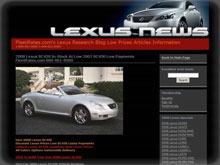 Lexus Fleet Pricing & News