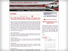 Mercedes-Benz Articles